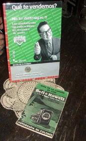 Antiguo Libro Manual Uso Camara Bell & Howell 1955 (3198)