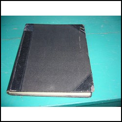 antiguo libro secante