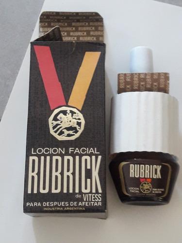 antiguo locion facial rubrick  sin abrir, sin uso