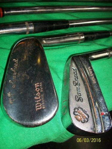 antiguo lote de palos de golf,carro,vintage,coleccion