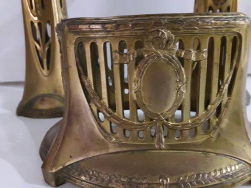 antiguo lote violeteros y jardinera luis xvi dorado ormolu ?
