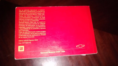 antiguo manual del propietario - chevrolet spark 2004 (c-22