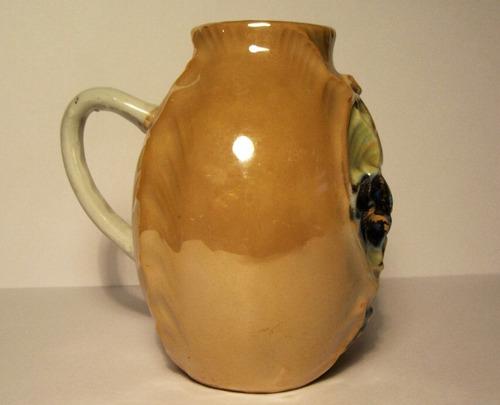 antiguo mate isabelino felicidad - porcelana alemana