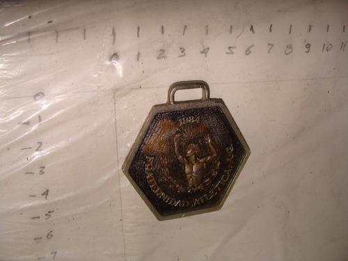 antiguo medalla de maraton de la ciudad de mexico 3er , año