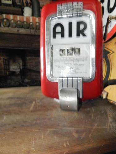 antiguo medidor balanza de aire eco air tireflator