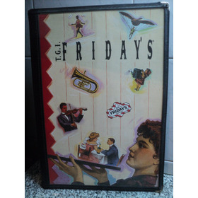 Antiguo Menu Friday's Tgi Friday's 1993 Usa Vintage Retro