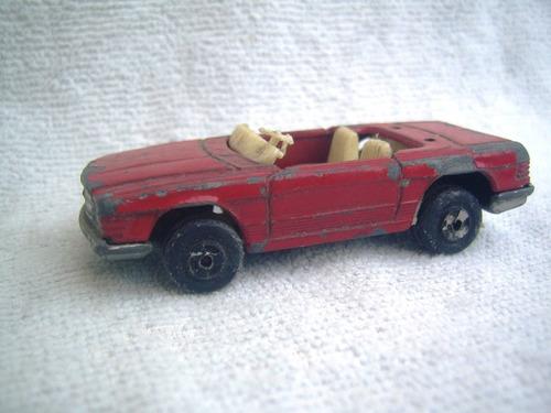 antiguo mercedes benz 350 sl nº8 - marca aguti toys