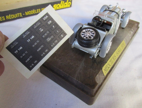 antiguo mercedes sskl (1931) 1/43, solido age d'or, gotech