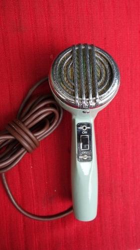 antiguo microfono astatic usa antigua retro vintage