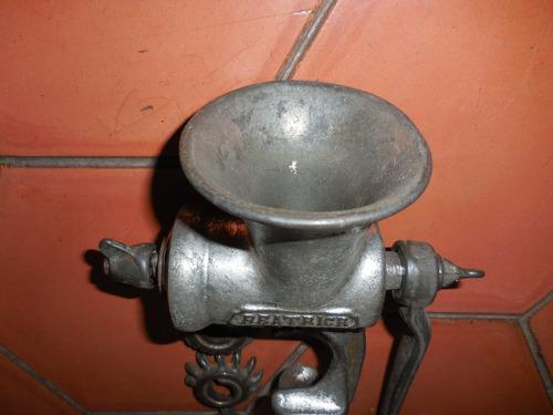 antiguo molino de carne harper beatrice 3181  año 1930