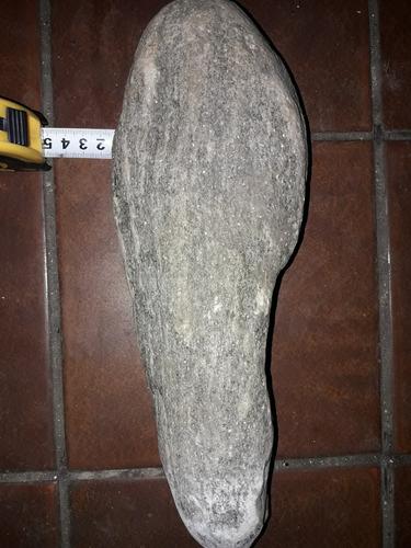 antiguo mortero de piedra gran tamaño arte folklorico
