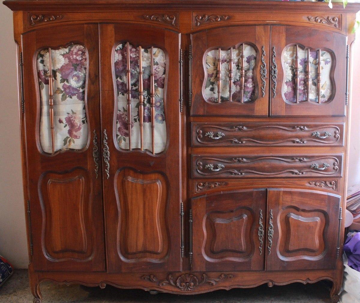 Antiguo Mueble Comedor Modular Vajillero Estilo Provenzal - $ 10.000 ...