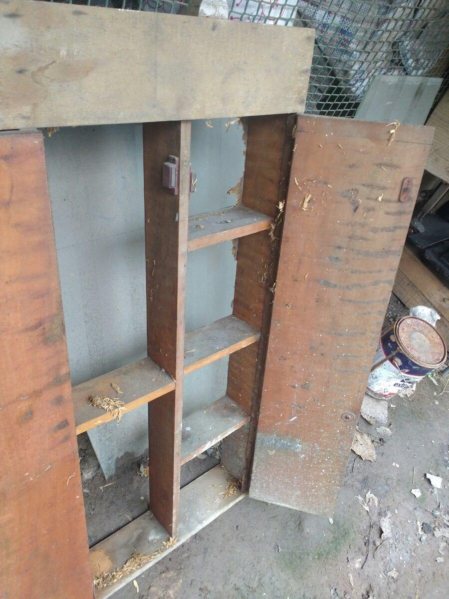 Antiguo mueble de ba o botiqu n tocador decoraci n grande en mercado libre - Mueble de bano antiguo ...