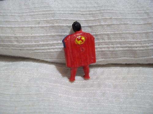 antiguo muñ. d choc. jack   supermán  original impecable