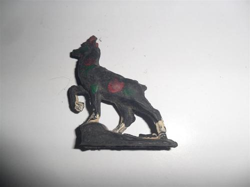 antiguo muñeco carnero juguete miniatura ciervo venado