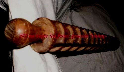 antiguo palo madera marcador ravioles- pastas