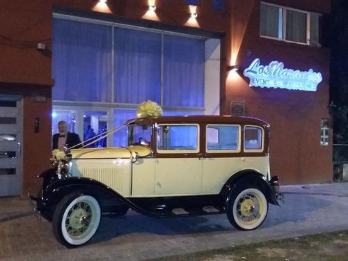antiguo para eventos, alquiler auto
