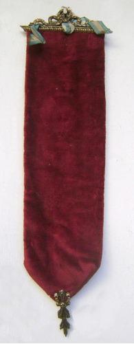 antiguo pendón colgante para cuadros miniatura - no envío