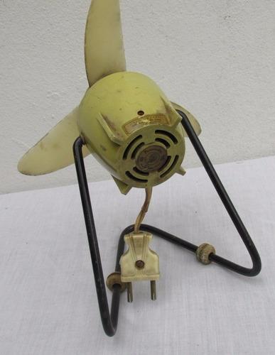 antiguo pequeño ventilador siam personaire de diseño,años 60