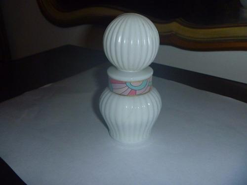 antiguo perfume locion appel de cannon frasco chico (2743)