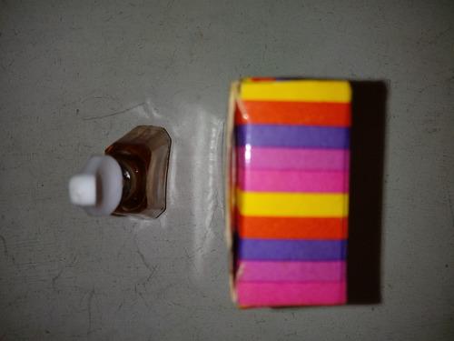 antiguo perfume sensacion altai lleno con caja