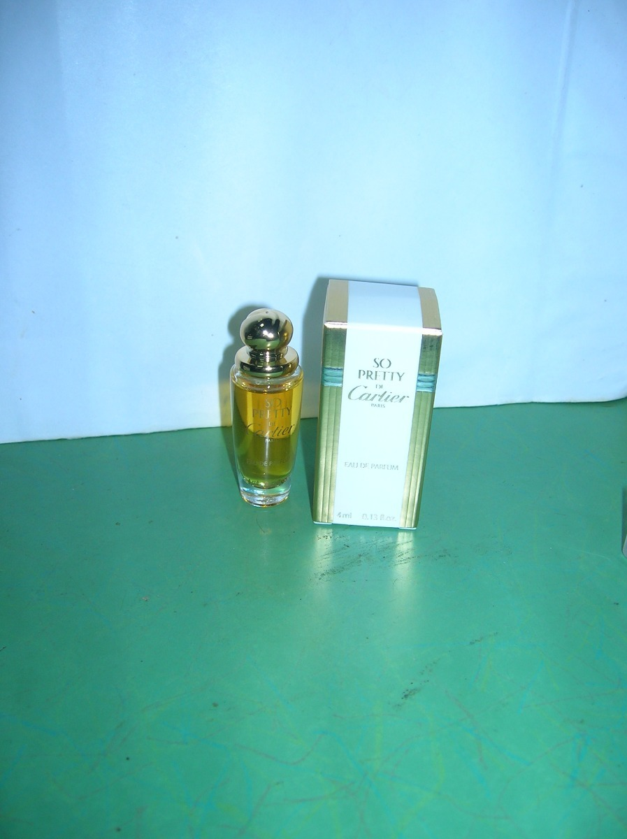 Antiguo Perfume Sin 00 En Ml Uso350 4 Pretty Mini Cartier So rCtsdhQ