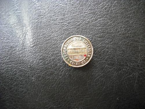 antiguo  pin de federacion de sub oficiales en retiro