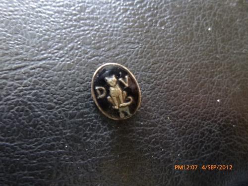 antiguo pins esmaltado  dv leon
