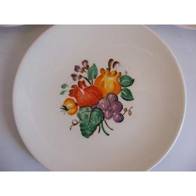 Antiguo Plato De Fina Porcelana Hecho En El Año 1951