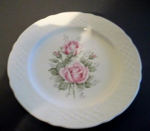 antiguo plato de porcelana bavaria shumann,  shabby chic