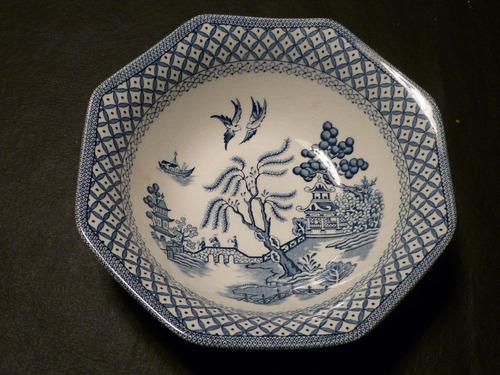 antiguo plato decorativo ingles royal staffordshire