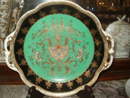 antiguo plato decorativo novitake made in japan bellisimo