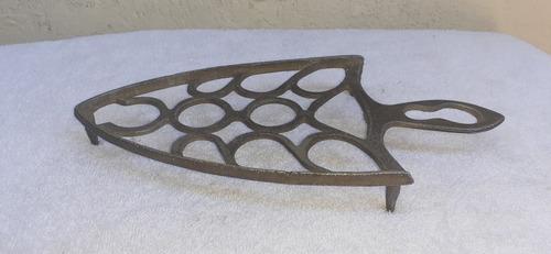 antiguo porta plancha de aluminio