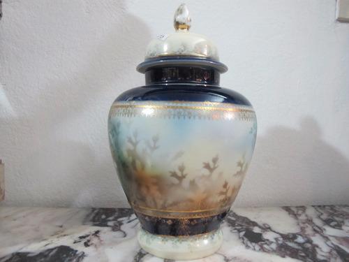 antiguo potich de porcelana viejo viena
