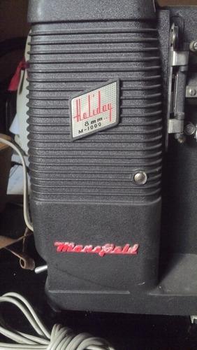antiguo proyector 8mm marca mansfield, minnesota