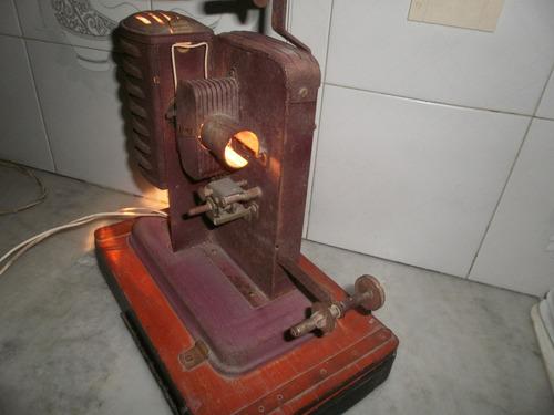 antiguo proyector aleman noris de 1930 para coleccion adorno