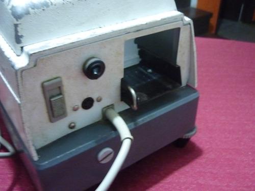 antiguo proyector de diapositivas braun nurnberg aleman