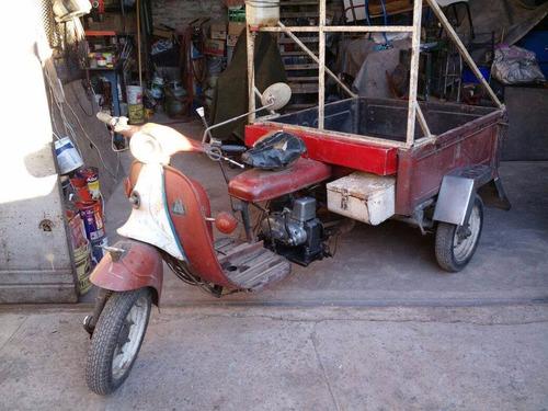 antiguo puma moto furgon 125cc