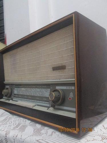 antiguo radio a tubos/saba/excelente estado/100%operativo
