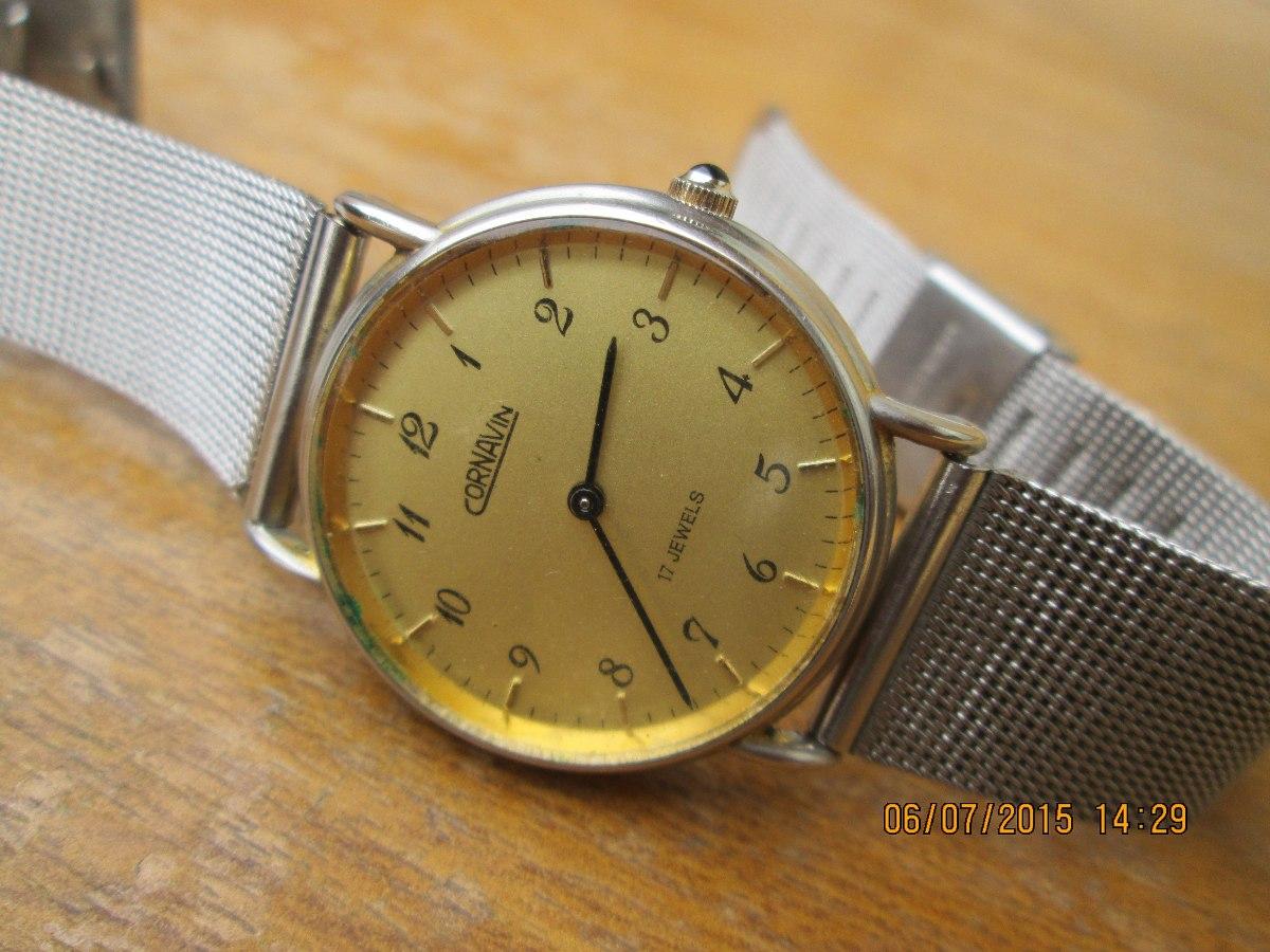Cuerda Funcionando60 Reloj Extraplano 000 A Antiguo Cornavin gYybf76
