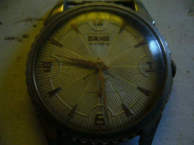 318b0be46d1a Antiguo Reloj A Cuerda De Caballero Dako -   850