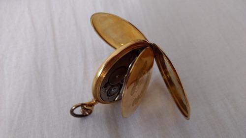 antiguo reloj bolsillo hombre oro 18 k