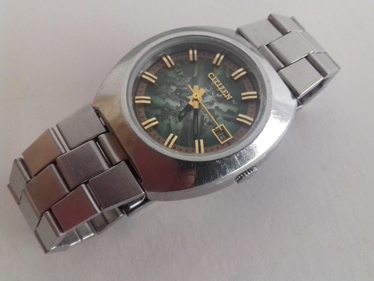 a6cc1ace649f antiguo reloj citizen automatico de hombre. Cargando zoom.
