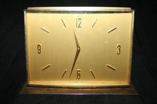 antiguo reloj clock  imhof 8 jewels sweden