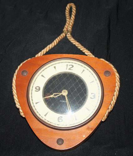 antiguo reloj clock mercedes cuerda naval barco