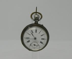 baf9debb2046 Reloj De Bolsillo Plata - Reloj de Bolsillo Antiguo en Mercado Libre ...