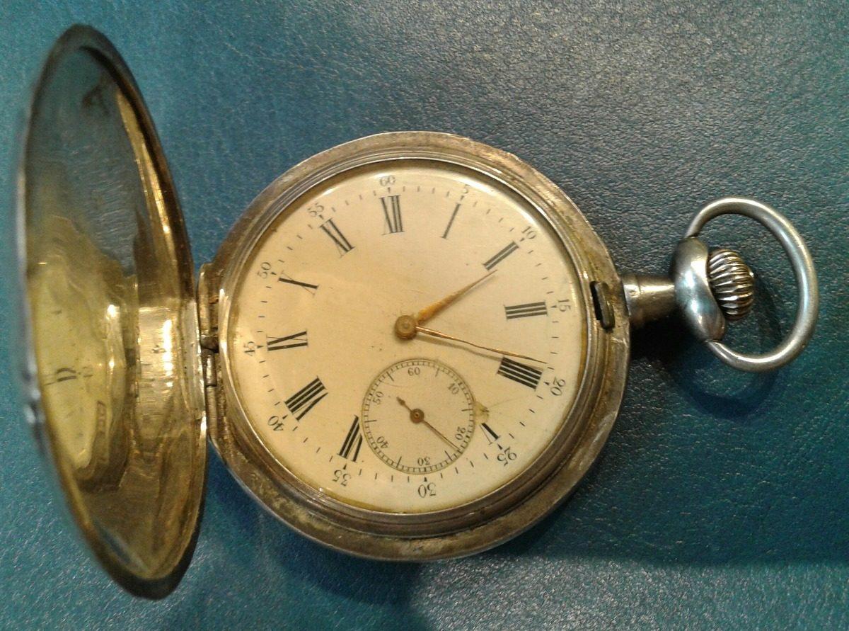 gran selección diseño popular precio de fábrica Antiguo Reloj De Bolsillo Omega Plata 48 Mm Funcionando - $ 8.970,00
