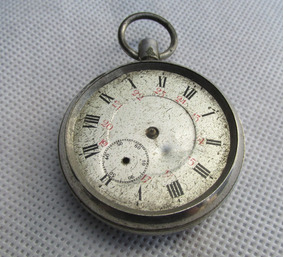 De Bolsillo Antiguo Reloj Railway RegulatorRestaurarl Tl1JcFK3