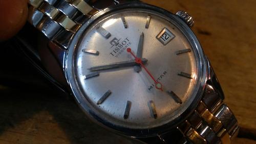 antiguo reloj de cuerda tissot modelo milita