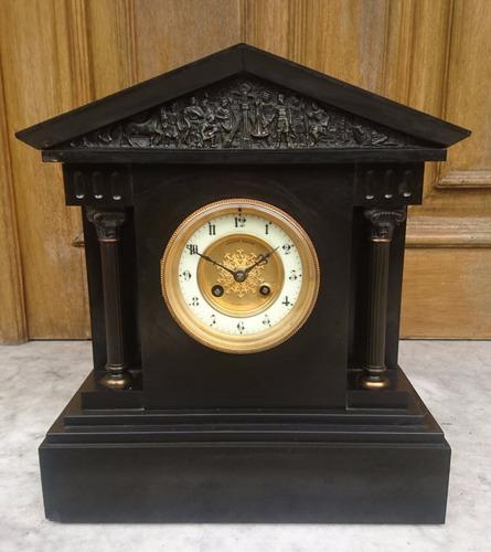 Antiguo reloj de mesa de 1870 39 s joseph gache gibraltar for Reloj digital de mesa